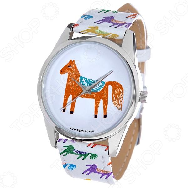 Часы наручные Mitya Veselkov «Лошадка карандашами»