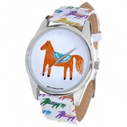 фото Часы наручные Mitya Veselkov «Лошадка карандашами»