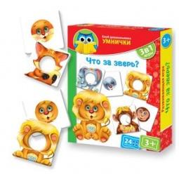 Купить Игра развивающая Vladi Toys «Что за зверь?»