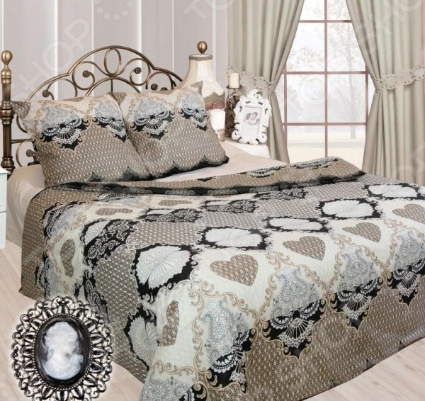 Комплект постельного белья Сова и Жаворонок «Франсуаза» комплект постельного белья сова и жаворонок сингапур 19060 3