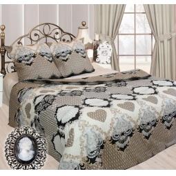 фото Комплект постельного белья Сова и Жаворонок «Франсуаза». Семейный. Размер наволочки: 70х70 см — 2 шт