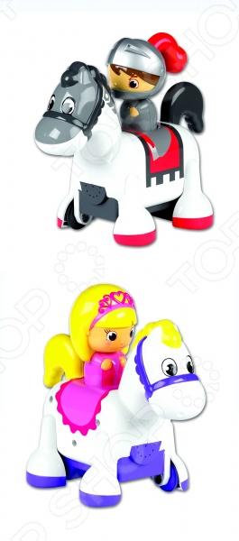 Игрушка интерактивная Tomy «Принцесса и рыцарь» военная миниатюра атакующий английский рыцарь на коне