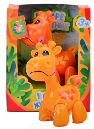 Фигурка 1 Toy «Жираф»Игрушечные животные<br>Фигурка 1 Toy Жираф замечательный подарок для любознательного ребенка, займет достойное место на полке игрушек в детской комнате. Игрушка отличается ярким видом, поэтому игра с ней будет интересной, поможет вашему ребенку познакомиться с миром животных, выучить их названия, ознакомиться с их внешним видом. Игрушка выполнена из качественных материалов, безопасных для здоровья ребенка. Игрушка идеально подойдет для детей от 3 лет.<br>