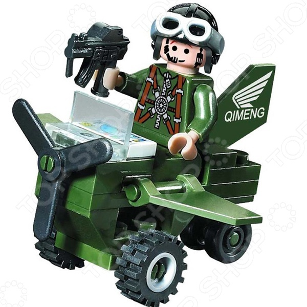 Конструктор игровой Brick «Вертолет» 801 цена