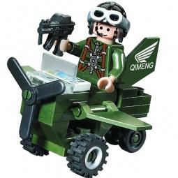 фото Конструктор игровой Brick «Вертолет» 801