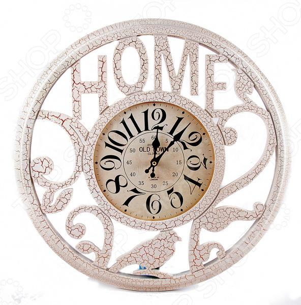 Часы настенные 29624Часы настенные<br>Часы настенные 29624 оригинально выполненные часы, которые станут прекрасным дополнением комнаты или офиса. Часы преобразят интерьер и придадут ему особое настроение. Имеет кварцевый механизм. Работают от батареек типа АА в комплект не входят . Рекомендуется регулярно удалять пыль сухой, мягкой тканью. Размер 50х50х5 см.<br>