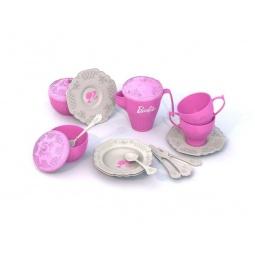фото Игровой набор для девочки Нордпласт «Чайная посудка. Барби» 636