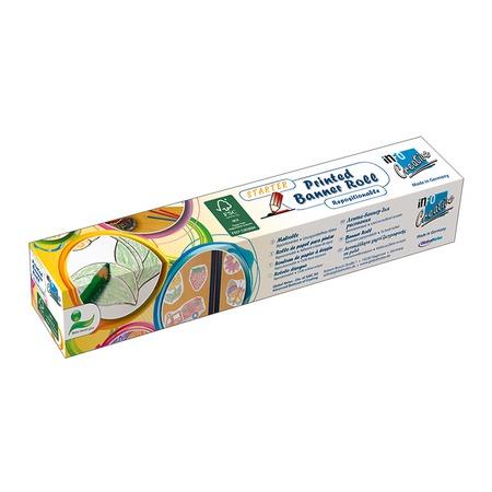Купить Раскраска-баннер самоклеющаяся Info Notes 8718-08