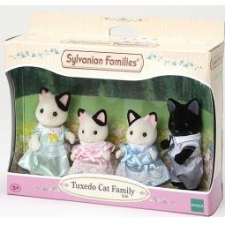 фото Набор игрушек-зверюшек Sylvanian Families 5181 «Семейка черно-белых котов»