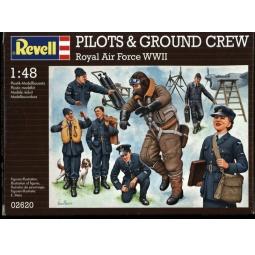 Купить Пластиковые модели Revell «Пилоты и наземная команда Британских ВВС»