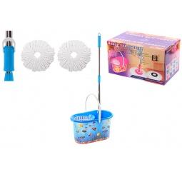 Купить Набор для уборки: швабра, ведро и насадки Violet 09000/79 «Океан»