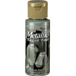 фото Краска акриловая DecoArt Dazzling Metallics. Цвет: серебристый