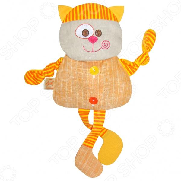 Мягкая игрушка Доктор мякиш Кот доктор носов крем при простуде 30мл