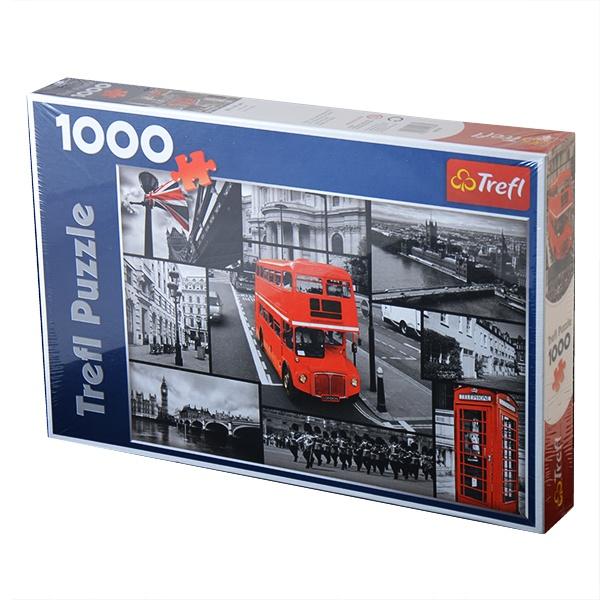Пазл 1000 элементов Trefl «Лондон-коллаж»