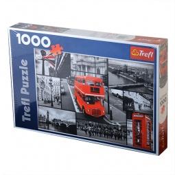 Купить Пазл 1000 элементов Trefl «Лондон-коллаж»