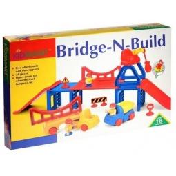 фото Игрушка развивающая для малыша Kidsmart «Строительство моста»