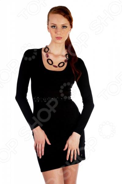 Платье Mondigo 9766. Цвет: черный