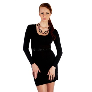 Купить Платье Mondigo 9766. Цвет: черный