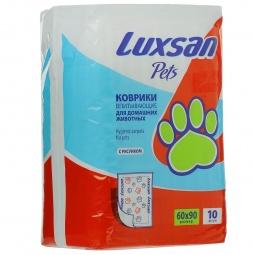 фото Коврики впитывающие для домашних животных Luxsan Pets. Количество предметов: 20