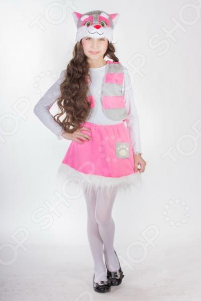 Костюм карнавальный для девочки Карнавалия «Кошечка» 88024