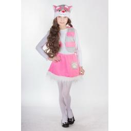 фото Костюм карнавальный для девочки Карнавалия «Кошечка» 88024