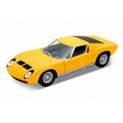 Купить Модель машины 1:18 Welly Lamborghini Miura. В ассортименте