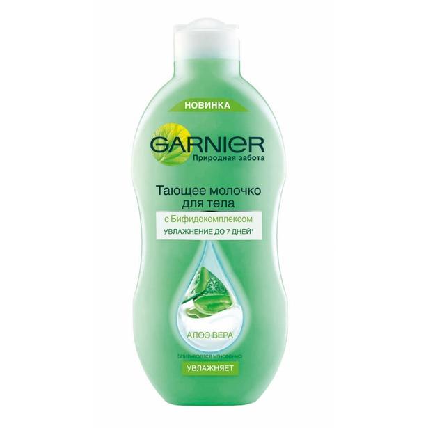 фото Молочко для тела тающее Garnier Природная забота. Вид: Алоэ Вера
