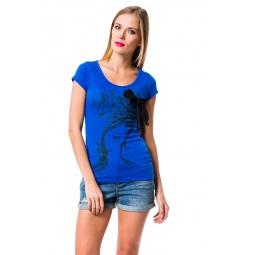 фото Футболка Mondigo 8582. Цвет: синий. Размер одежды: 42