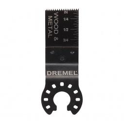 Купить Полотно пильное для резки дерева и металла заподлицо Dremel MM422
