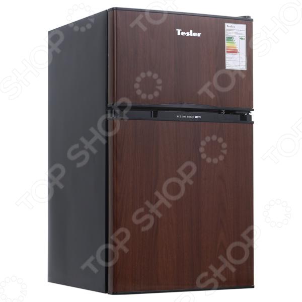 Холодильник Tesler RCT-100 двухкамерный холодильник tesler rct 100 black