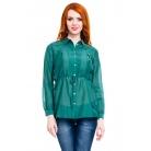 Фото Блузка Mondigo 9954. Цвет: темно-зеленый. Размер одежды: 48