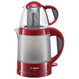 фото Чайный набор Bosch TTA 2201. Цвет: бордовый