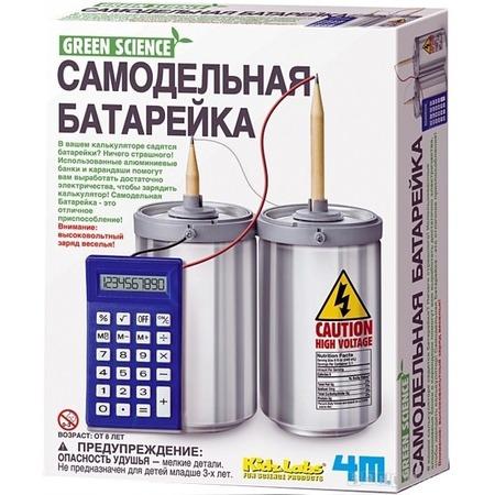 Купить Набор для изобретателей 4M «Самодельная батарейка»