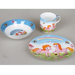 фото Набор посуды для детей Rosenberg 8751