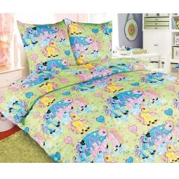 Купить Детский комплект постельного белья Бамбино «Чудо Пони»