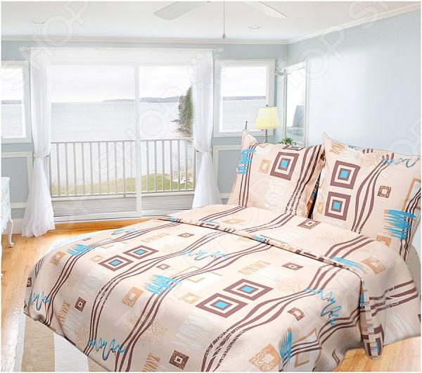 Комплект постельного белья Олеся «Пикассо». 1,5-спальный