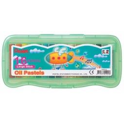 фото Пастель масляная в боксе Pentel Oil Pastels GHTP16