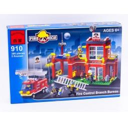 фото Конструктор игровой Brick «Пожарная станция» 910