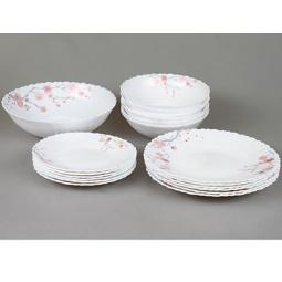 фото Набор столовой посуды Rosenberg 1252. Рисунок: сакура