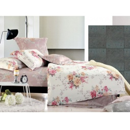 фото Комплект постельного белья Tiffany's Secret «Вальс цветов». 2-спальный. Размер наволочки: 50х70 см — 2 шт.