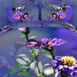 фото Комплект постельного белья Domomania Balattion. Satin Fotoprint. 2-спальный