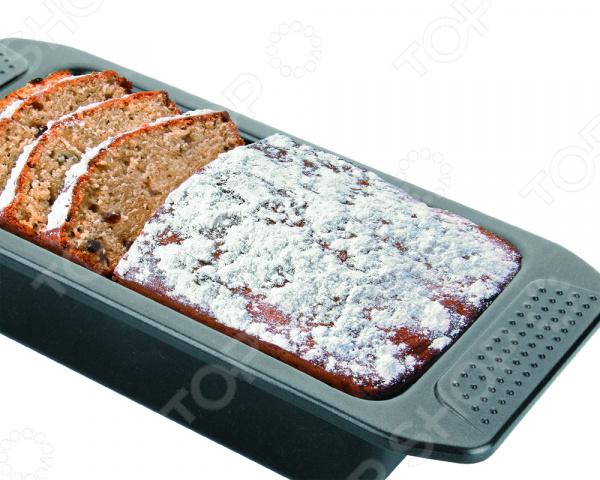 Форма для выпечки кексов металлическая Dekok BW-105Металлические формы для выпечки и запекания<br>Форма для выпечки кексов металлическая Dekok BW-105 станет прекрасным приобретением для тех, кто любит создавать кулинарные шедевры собственными руками. Идеально подойдет для выпекания кексов, домашнего хлеба и прочей сдобной выпечки. Форма для выпекания выполнена из высококачественной углеродистой стали, которая отличается своей высокой экологической чистотой, ударопрочностью, износоустойчивостью, жаростойкостью. Эта удивительная форма прослужит вам долго и качественно, сохраняя свой прекрасный внешний вид даже после многолетнего использования. Форма не подвержена образованию ржавчины и воздействию коррозии. Эта практичная посуда займет достойное место среди вашей кухонной утвари, так как не изменяет цвет, вкус выпекаемых блюд, легко моется и не требует особенного ухода. Благодаря антипригарному покрытию Xylan вам не потребуется большое количество масла, поэтому ваша выпечка будет не только вкусной, но и полезной. Изделие легко выдерживает температуру до 230 С. Не подходит для мытья в посудомоечной машине.<br>