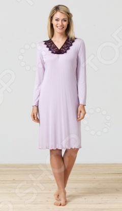 Платье домашнее BlackSpade 5681. Цвет: лиловый