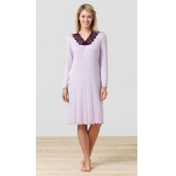 фото Платье домашнее BlackSpade 5681. Цвет: лиловый. Размер одежды: L