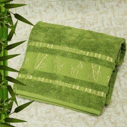 фото Полотенце махровое Mariposa Tropics l.green. Размер полотенца: 70х140 см