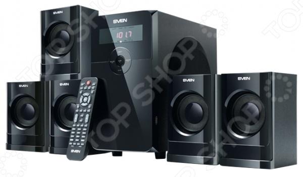Колонки Sven HT-200 портативные колонки с fm радио