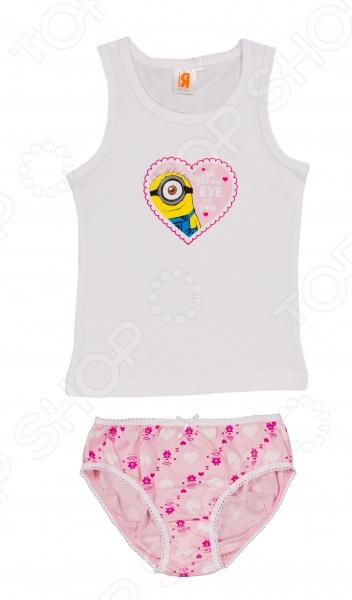 Комплект нижнего белья для девочки: майка и трусы Minions. I've Got My Eye On You