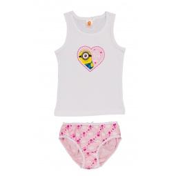 Купить Комплект нижнего белья для девочки: майка и трусы Minions. I've Got My Eye On You