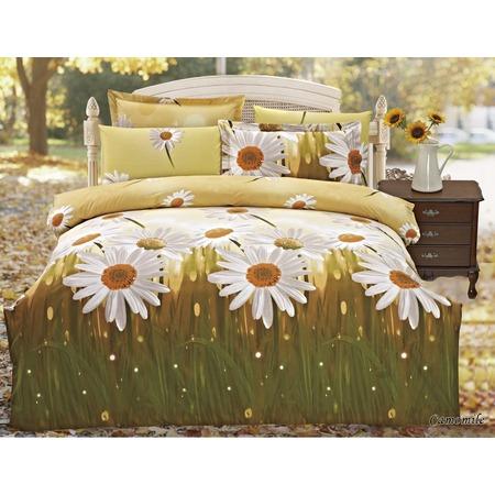 Купить Комплект постельного белья Jardin Camomile. Евро