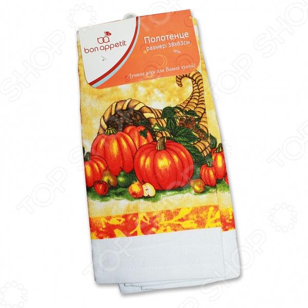 Полотенце кухонное Bon Appetit Melon bon appetit кухонное полотенце тыква 38х63 см